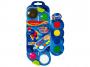 R003287 - farby akwarelowe 12+4 kolorów Keyroad + pędzelek