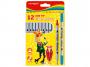 R003292 - flamastry szkolne Keyroad Duo mix kolorów, 12szt.