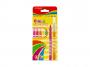 R003294 - flamastry szkolne Keyroad Fiber Marker neon, mix kolorów, 8szt.