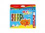 R003296 - flamastry szkolne Keyroad Jumbo Starter zmywalne, mix kolorów, 12szt.