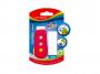 R003298 - gumka do ścierania Keyroad Smile, mix kolorów, 1+1szt.