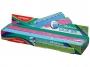 R003330 - linijka 30cm Keyroad Color Bar, mix kolorów, 24 szt.