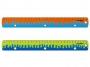 R003334 - linijka 30 cm z uchwytem Keyroad Coral, mix kolorów, 24 szt.