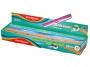 R003337 - linijka 30 cm z uchwytem Keyroad Soft, mix kolorów, 24 szt.