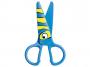 R003347 - nożyczki szkolne 13cm Keyroad Kids Prro bezpieczne, mix kolorów, 20szt.