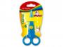 R003348 - nożyczki szkolne 12,5cm Keyroad Security zaokrąglone, mix kolorów