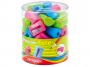 R003369 - temperówka plastikowa pojedyncza Keyroad Cute tuba, mix kolorów, 48szt.