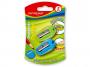 R003373 - temperówka plastikowa pojedyncza Keyroad Nugget, mix kolorów, 2szt.
