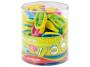 R003374 - temperówka plastikowa pojedyncza Keyroad Nugget tuba, mix kolorów, 48szt.