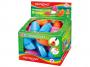 R003375 - temperówka plastikowa pojedyncza Keyroad Orange z gumką, mix kolorów, 24szt.