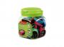 R003382 - temperówka plastikowa podwójna Keyroad Rubber, mix kolorów, 24szt.