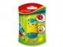 R003387 - temperówka plastikowa pojedyncza Keyroad Soft, mix kolorów