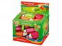 R003395 - temperówka plastikowa pojedyńcza Keyroad Twist z gumką, mix kolorów, 36szt.