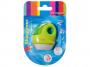 R003405 - temperówka plastikowa pojedyncza Keyroad z gumką, mix kolorów