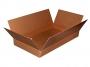 R003477 - pudło pakowe, karton Office Products 627x367x66mm zamykane typ InP A, szare
