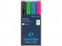 R003695 - marker do tablic szklanych Schneider Maxx 245 C gr.linii 2-3mm mix kolorów, 4szt.