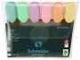 R003805 - zakreślacz Schnedier Job Pastel gr. linii 1-5 mm mix kolorów, 6 szt.