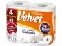 R003821 - papier toaletowy Velvet Najdłuższy, 2-warstwowy, 486 listków, 4 rol./op.