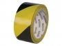 R003863 - taśma ostrzegawcza Office ProductS Solvent 50mm x 50m, czarnożółta