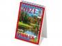 R004017 - kalendarz biurkowy Telegraph Mini Zodiak 2021r. bloku 85x120 mm