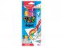 R004112 - kredki plastikowe Maped ColorPeps Oops z gumką trójkątne 12 kolorów