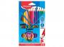 R004114 - kredki plastikowe Maped ColorPeps Strong Jumbo trójkątne 12 kolorów