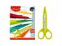 R004141 - nożyczki szkolne kreatywne Maped, plastikowe z wymiennymi ostrzami, 5 ostrzy