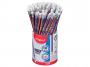 R004147 - ołówek grafitowy z gumką Maped Blackpeps HB niebieski display 72 szt./op.