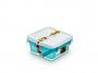 R004293 - pojemnik do przechowywania 2l ORPLAST Arctic line box, kwadratowe, niebieski transparentny, 2 szt./op.