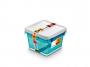 R004294 - pojemnik do przechowywania 3l ORPLAST Arctic line box, kwadratowe, niebieski transparentny, 2 szt./op.