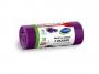R004936 - worki na śmieci z uszami STELLA, zapach lawendy, 35 l, 24 szt., lawendowy