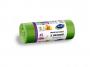 R004938 - worki na śmieci STELLA, z uszami, 45 l, 20 szt., zielone, zielony