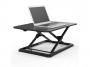 R005123 - nakładka na biurko, ergonomiczna, Elevo Air do pracy stojąco-siedzącej