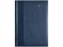 R005232Q - kalendarz książkowy A4 Classic Telegraph 2022r., skóra, tydzień na rozkładówce