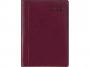 R005291Q - kalendarz książkowy B5 LUX Telegraph 2022r., skóra naturalna, dzień na stronie