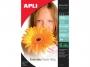 a11475 - papier fotograficzny A4 błyszczący Apli Everyday Photo Paper 180g 100 ark./op.