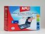 a11828 - ściereczki, chusteczki do czyszczenia ekranów LCD Apli nasączone i suche, 10 kpl./zestaw