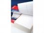 a15 - etykiety do drukarek igłowych białe Apli 88,9x36 mm, 2 rzędowe, prostokątne
