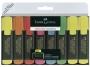 a5001592 - zakreślacz fluorescencyjny Faber Castell 48, 8 szt./kpl.