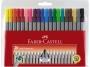a5001619 - cienkopis 0,4 mm 20 szt./op. Faber Castell Grip, etui, 151620, mix kolorów