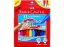 a5001679 - flamastry szkolne Faber Castell chowające się 12 kolorów, 150112