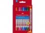 a5001684 - flamastry szkolne dwustronne Faber Castell 10 kolorów, 151110