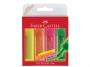 a5002053 - zakreślacz fluorescencyjny Faber Castell 1546 4 kolory w etui