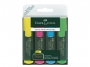 a5002067 - zakreślacz fluorescencyjny Faber Castell 1548 4 kolory w etui