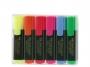 a5002068 - zakreślacz fluorescencyjny Faber Castell 1548 6 kolory w etui