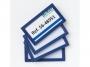 a5100200 - ramka informacyjna, plakatowa 80x45 mm Tarifold magnetyczna niebieska 4 szt./op.