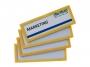a5100201 - ramka informacyjna, plakatowa 120x45 mm Tarifold magnetyczna żółta 4 szt./op.Towar dostępny do wyczerpania zapasów u producenta!!
