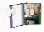 a5100212 - system prezentacyjny, informacyjny A4 naścienny Tarifold zestaw 10x panel mix kolorów z uchwytem