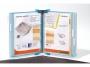a510021_ - system prezentacyjny, informacyjny A4 naścienny Tarifold Candy Line, zestaw 10x panel z uchwytem
