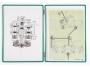 a51002b__ - system prezentacyjny, informacyjny A3 Tarifold z uszkiem, pionowy, op. 5x panel